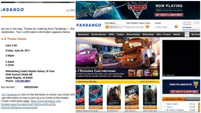 Cars2 Movie Review and Fandango Tickets #gocars2 #Giveaway