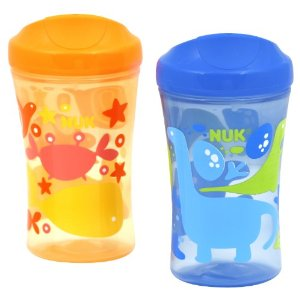 The Hunt for the Perfect Sippy. NUK Learning System Cup Line Review & #Giveaway