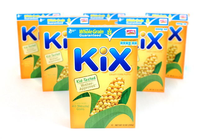 The one cereal my family can agree on! Kix Cereal #Giveaway #myblogspark