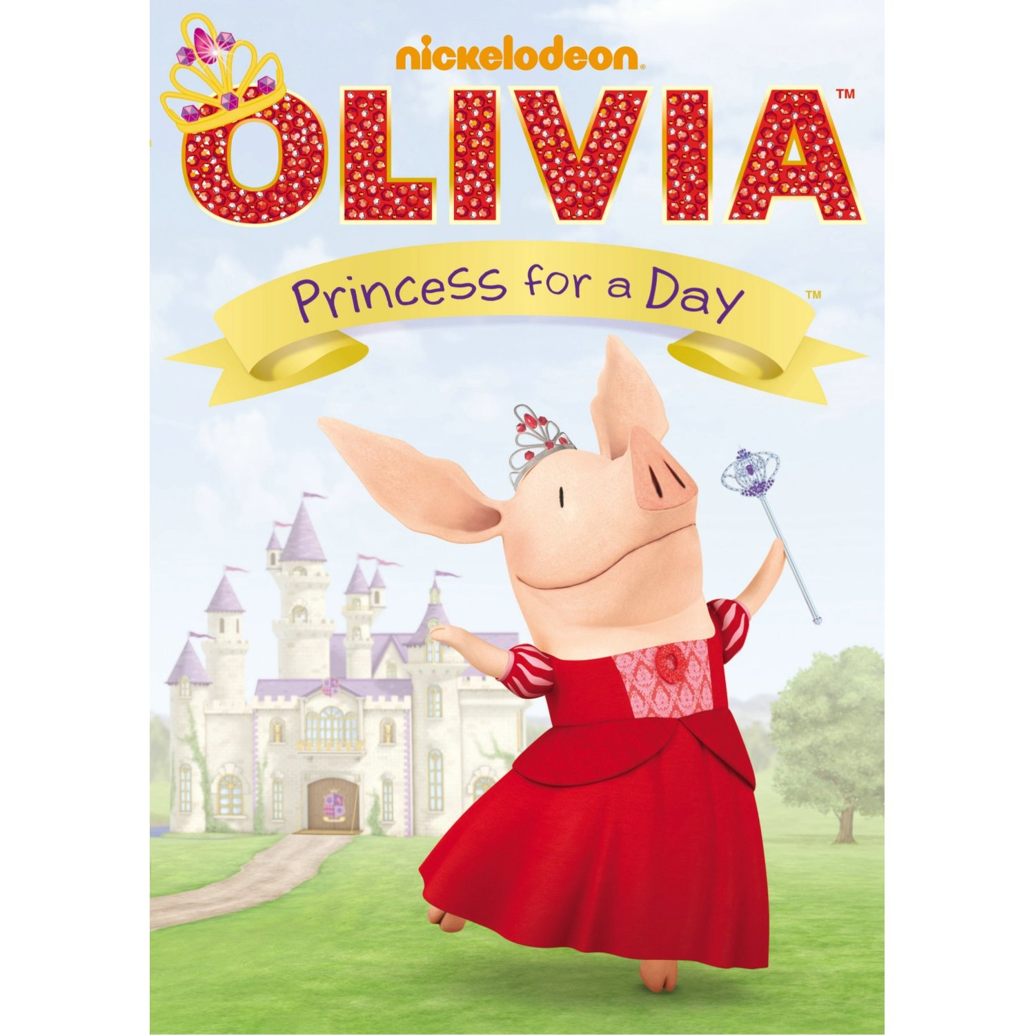 Pure Olivia Royalty! Olivia: Princess for a Day DVD Review