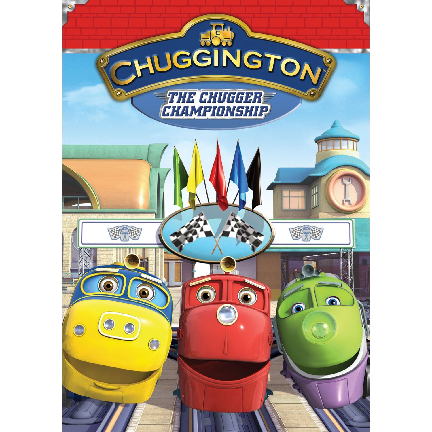 Chuggington: The Chugger Championship DVD Review & #giveaway