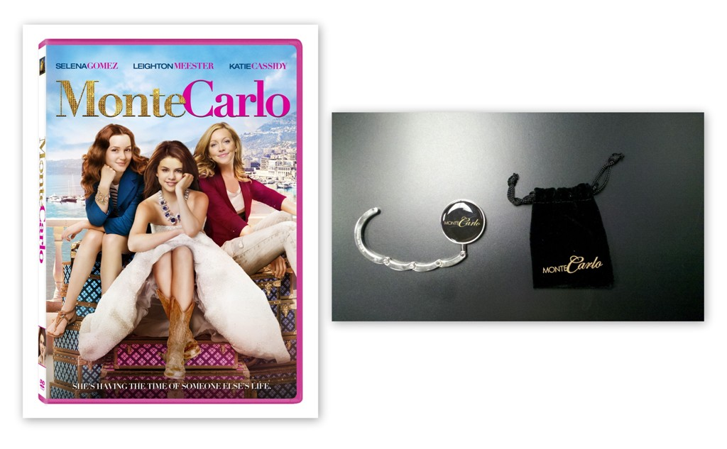 First Time Traveller Tips + Monte Carlo DVD & Purse Hook #Giveaway