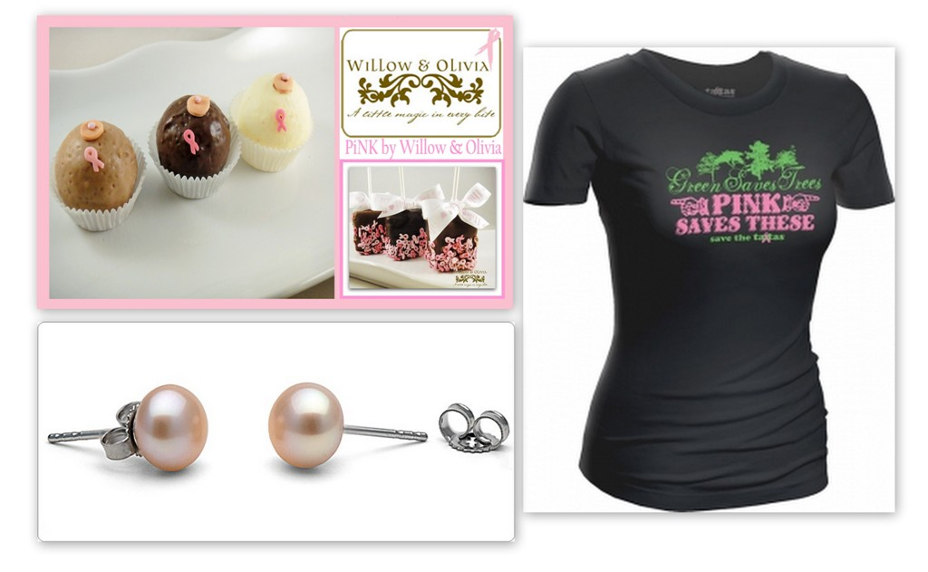 In Honor of the TaTas Event #Giveaway with Pearl Paradise, Williow & Olivia and Save the Ta-Tas