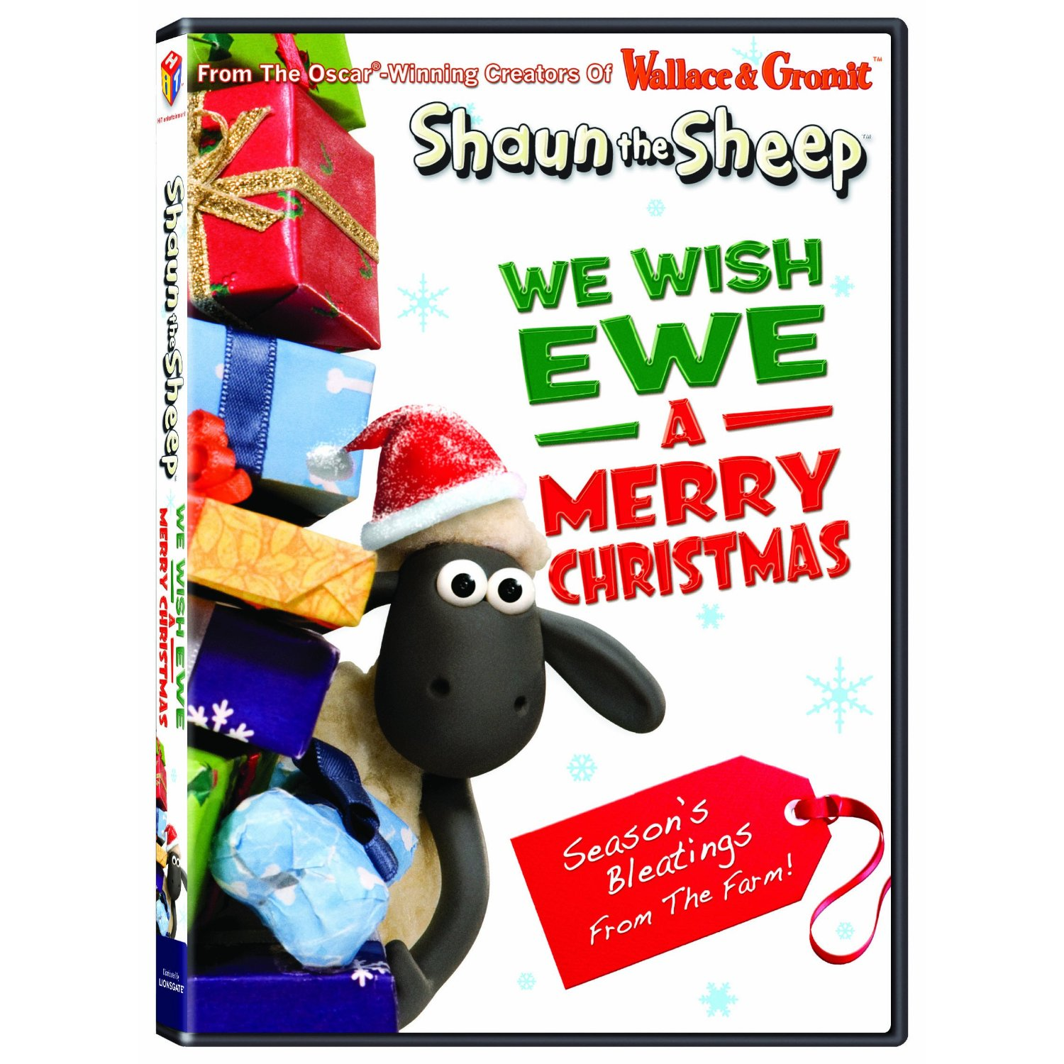 Shaun the Sheep for the Holidays! We Wish Ewe A Merry Christmas DVD #Giveaway