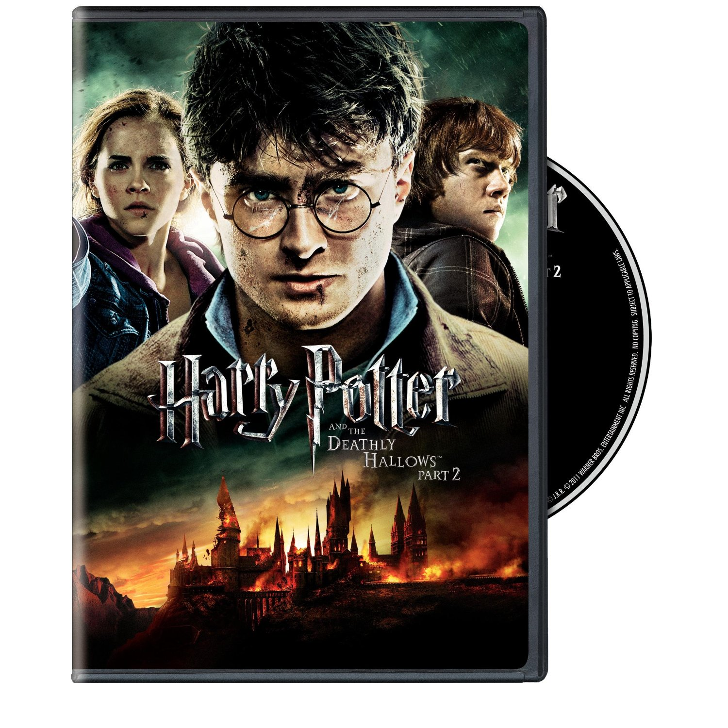 Available on Blu-Ray & DVD, Harry Potter and the Deathly Hallows Part 2 #Giveaway