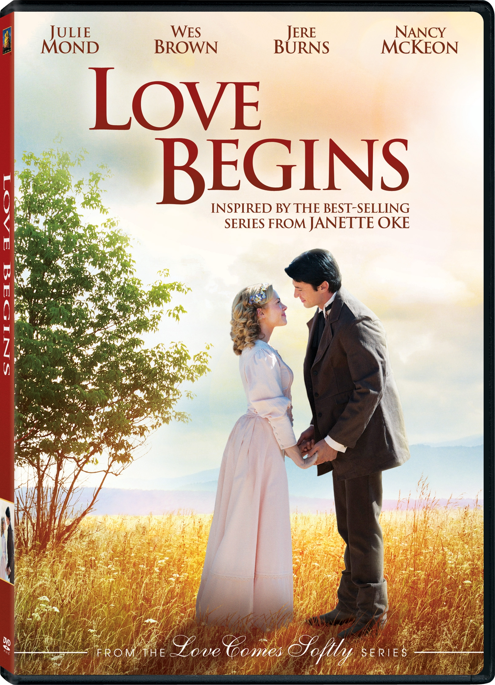 LOVE BEGINS coming to DVD, November 22 + DVD Giveaway