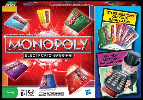 Hasbro Games for the holidays! Monopoly: Electronic Banking Game #Giveaway #Rafflecopter