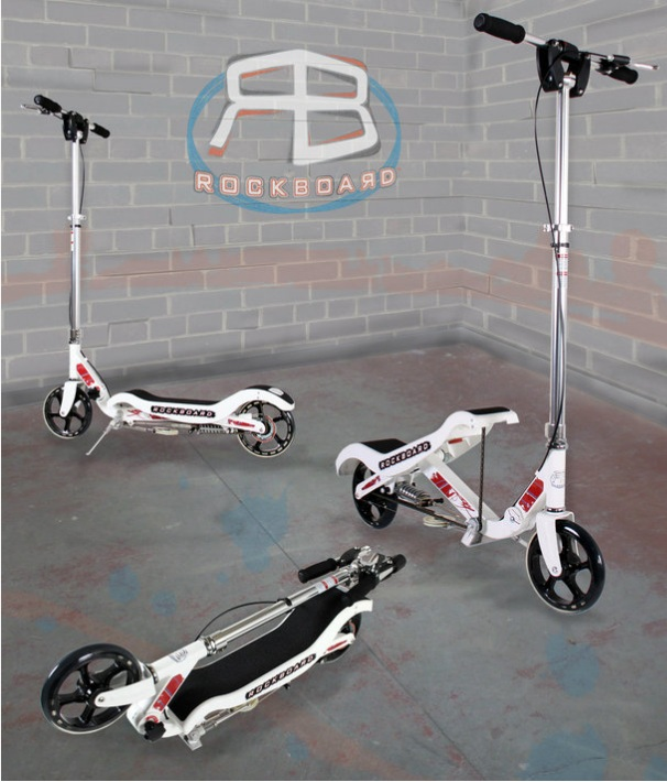 The Rockboard Scooter Review & #UnderTreeEvent #Giveaway (Rafflecopter ends 11/14)