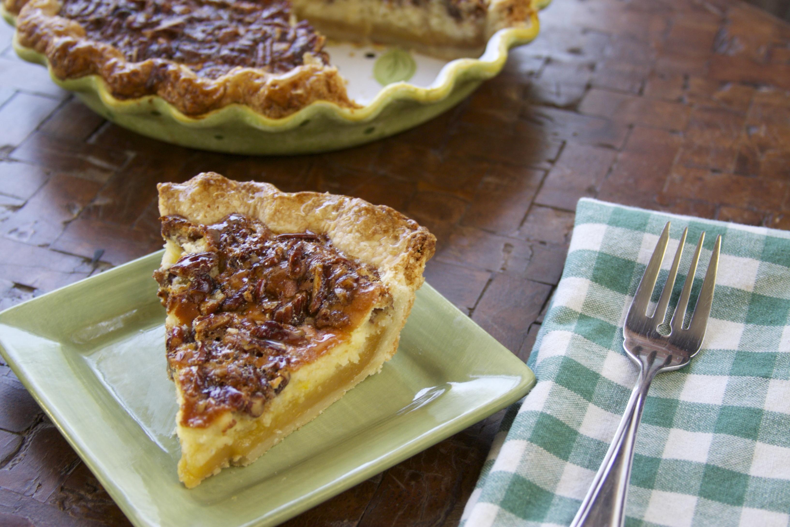Cheesecake Pecan Pie #Recipe