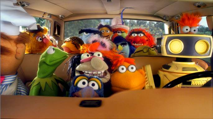 Traveling with children? Try THE MUPPETS Road Trip Game