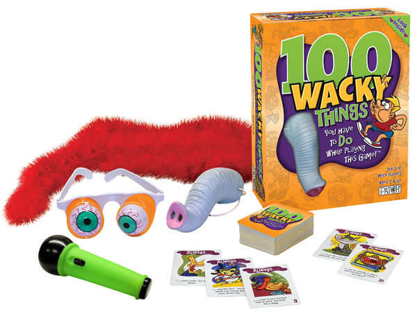 Patch Products for the Holidays! 100 Wacky Things Review & Giveaway