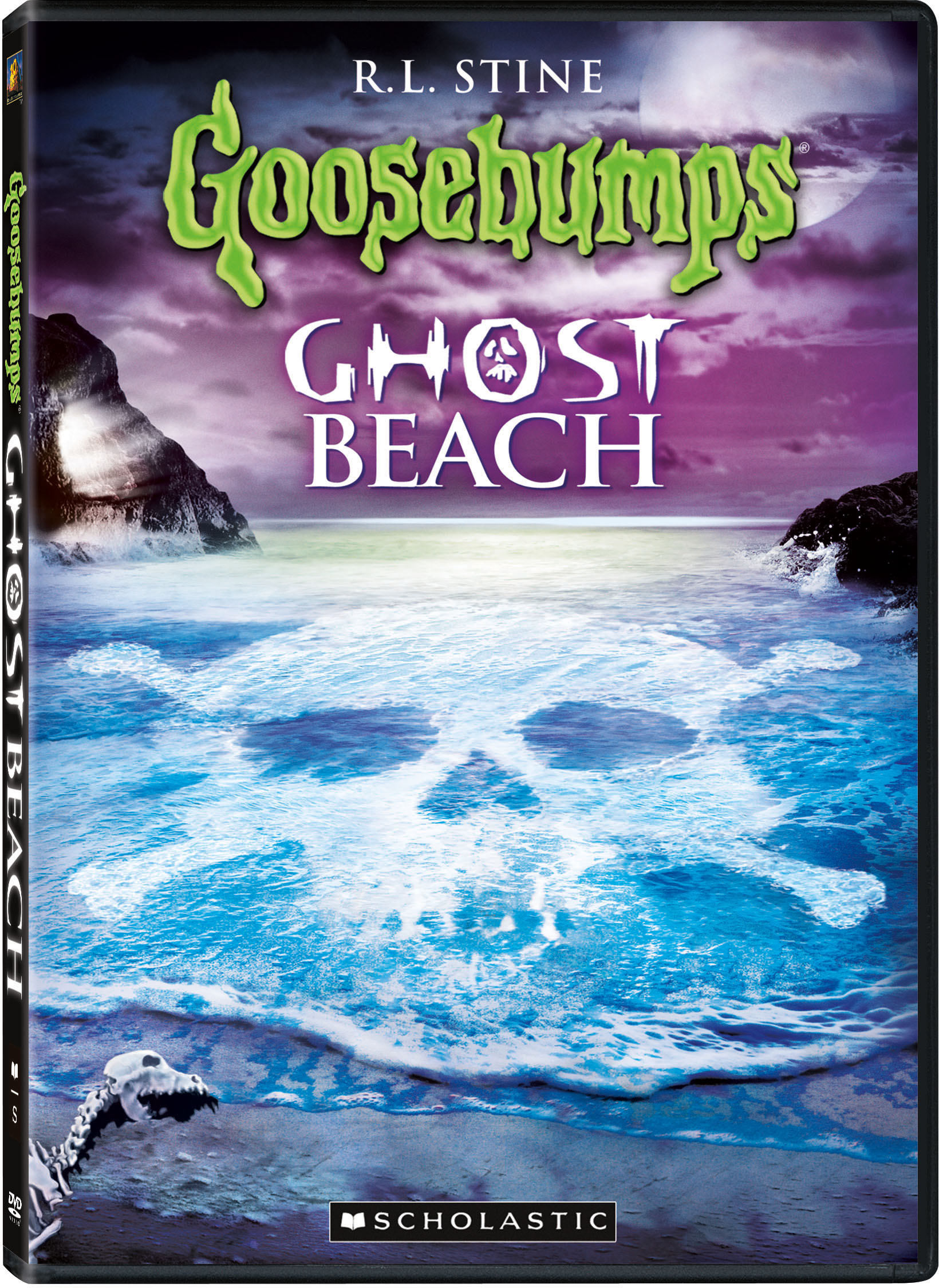 Goosebumps Adventures Attack of the Mutant and Ghost Beach DVD Review & Giveaway
