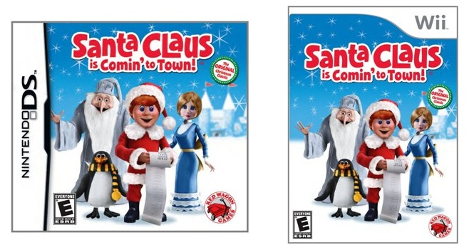 Santa Claus is Comin' to Town available for Nintendo DS and Wii Review & Giveaway
