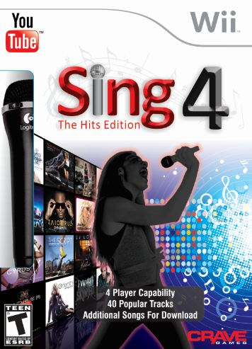 Sing 4: The Hits Edition with Microphone for Nintendo Wii Review & Giveaway