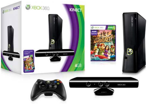 Spring Break Indoor Blues? Get over it with some fitness fun using the Xbox Kinect
