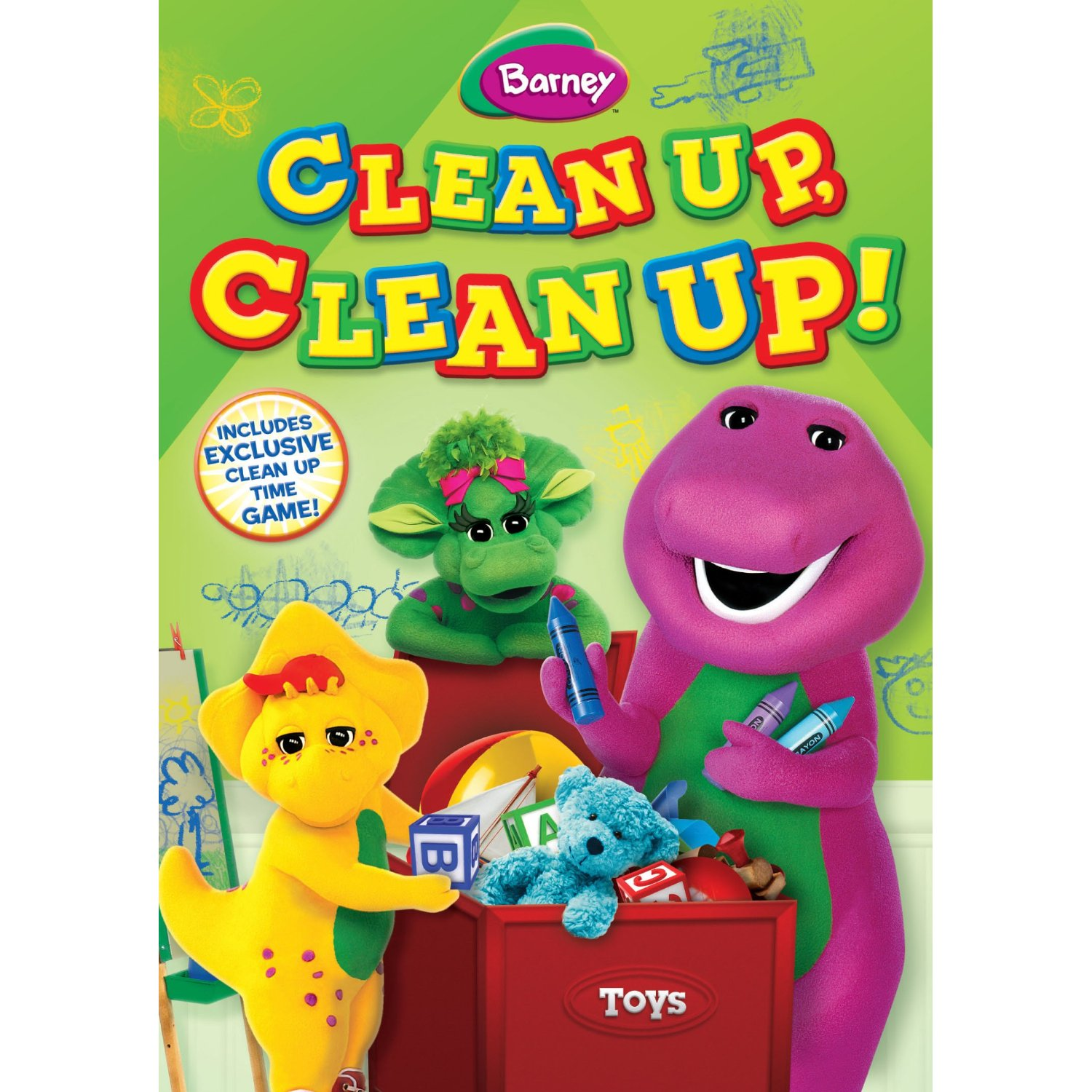 Positive Pre-school Teaching with Barney: Clean Up, Clean Up (now available on DVD)