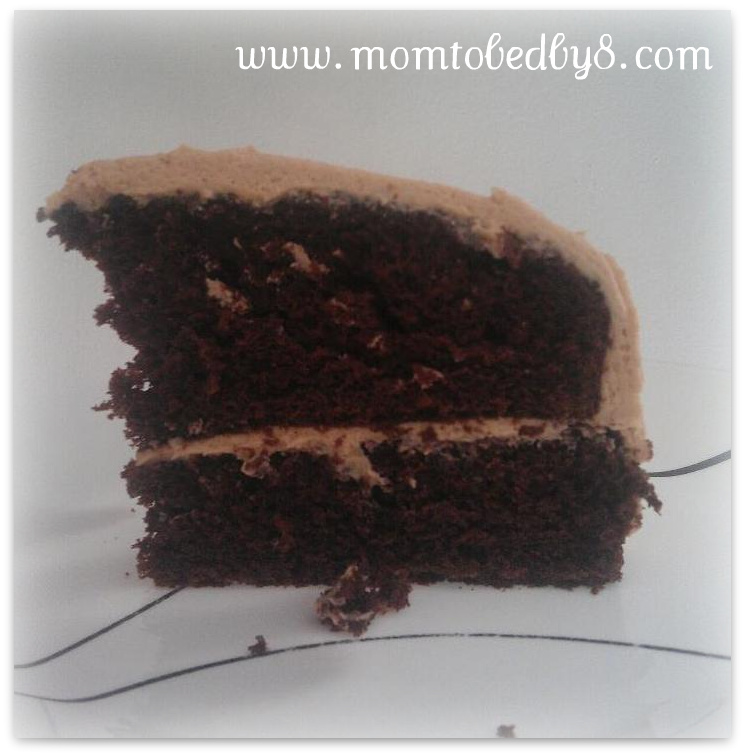 Easy Chocolate Cake with Peanut Butter Dream Icing Recipe