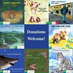 Earth Day Event ~ Dot-to-Dot Children's Books Endangered Species, Empowered Communities Book Series Giveaway