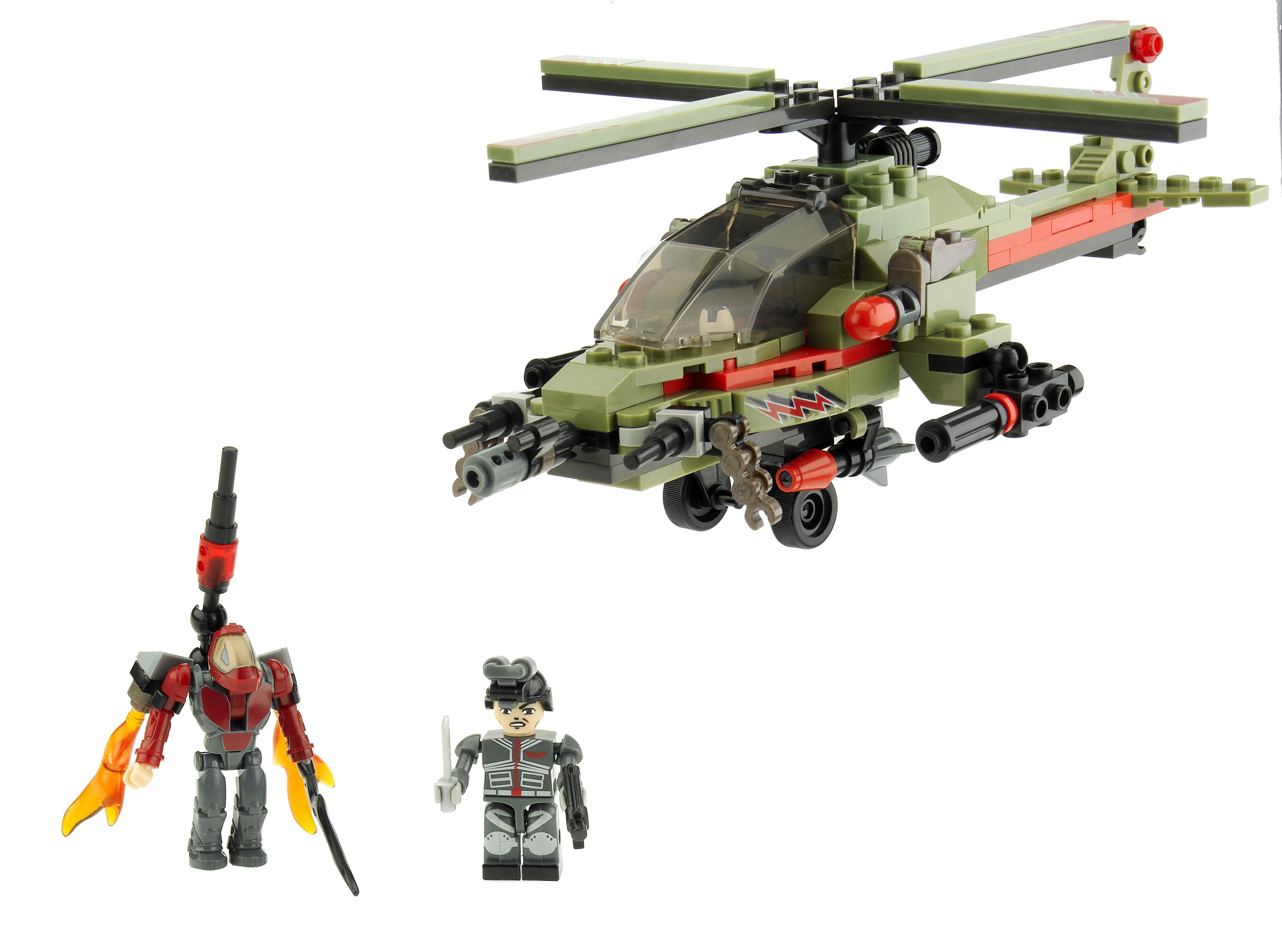 Classic Battleship Movie Edition game & KRE-O Battleship Combat Chopper Set Giveaway