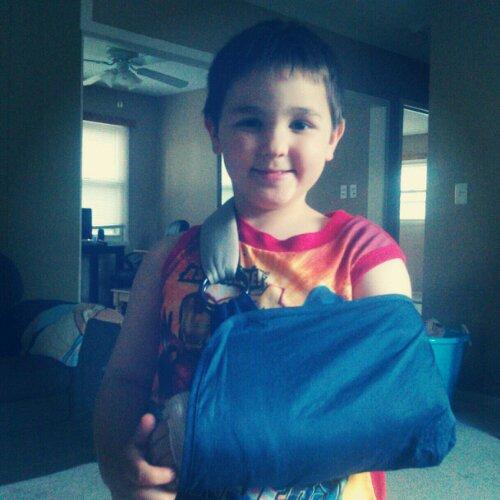 DD Update: Tale of the broken arm.