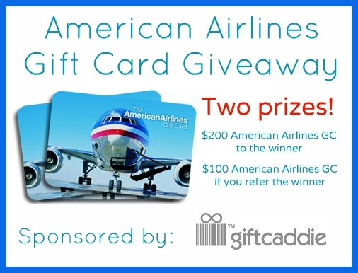 American Airlines $200 Gift Card Giveaway {ends 6/26}
