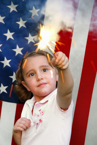 Keeping your children's eyes protected from firework injuries
