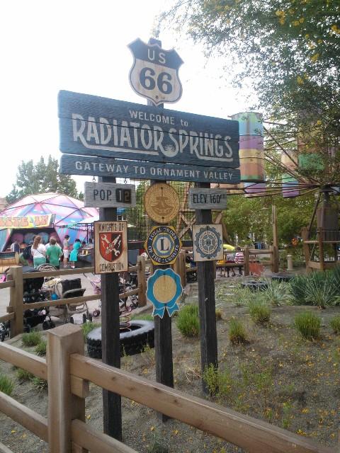 Cars Land Radiator Springs Experience at Disneyland