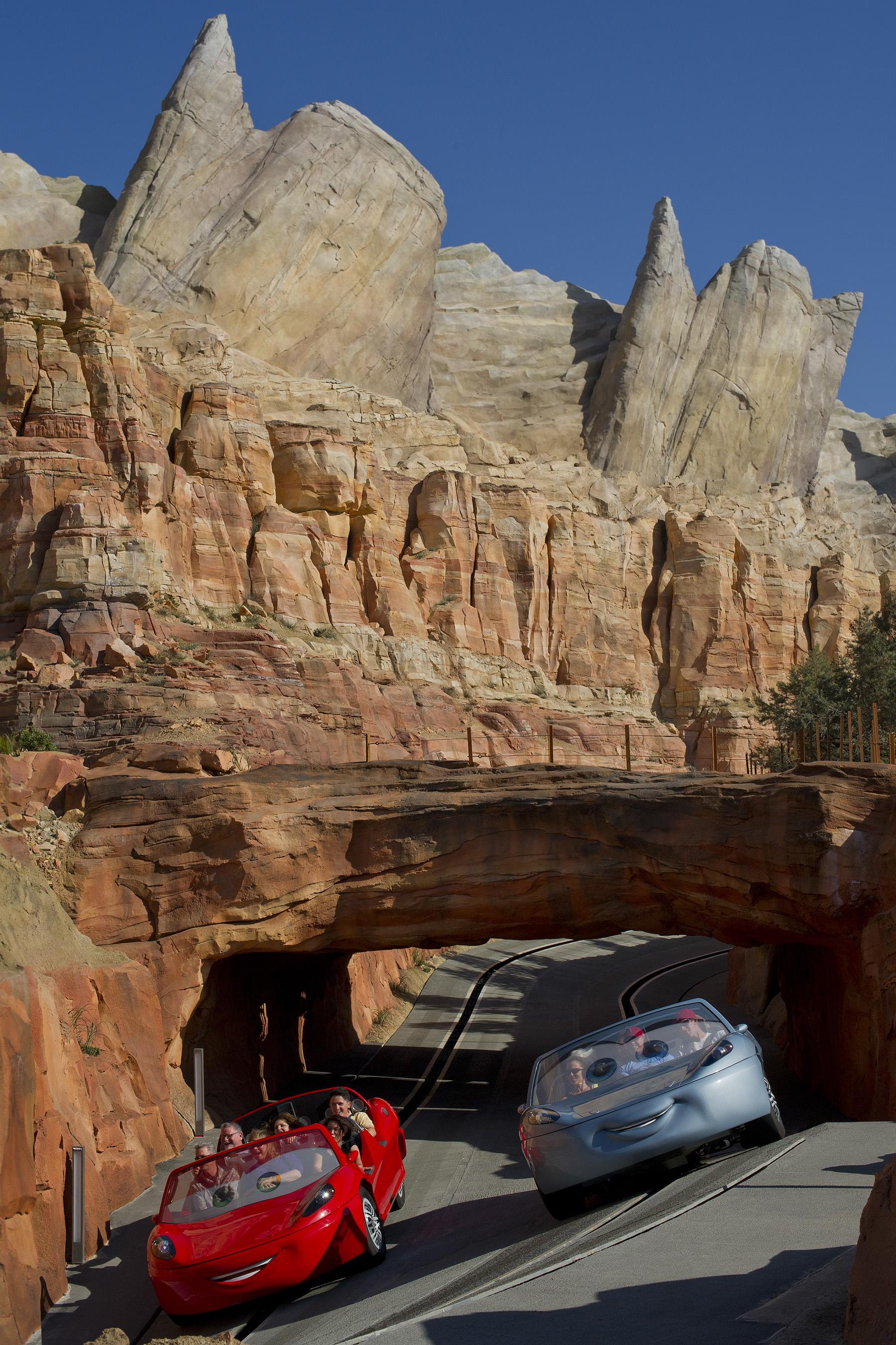 Visit Cars Land at Disney California Adventure Park