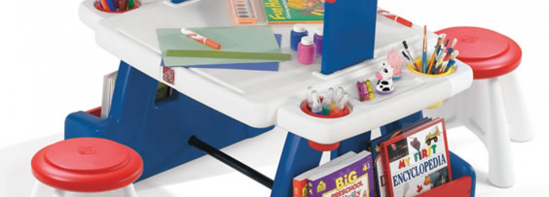Keeping Kids Creative ~ Step2 Creative Projects Table Giveaway