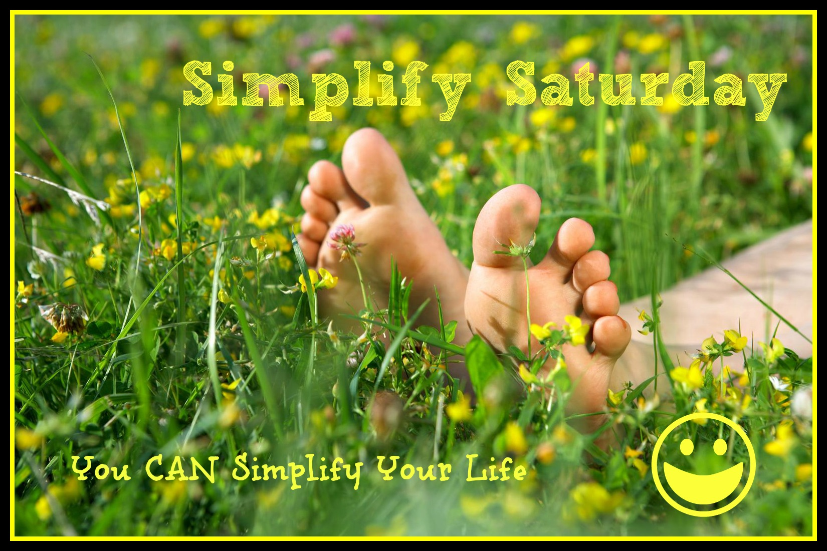 Simplify Saturday ~ How to relax with children!