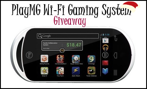 MG Wi-Fi Gaming Device Giveaway