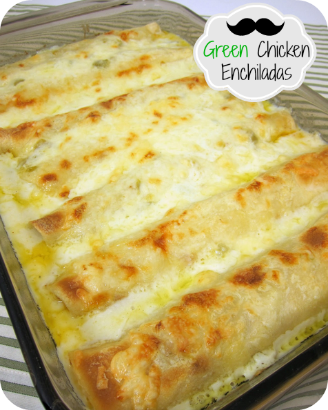 Green Chili Chicken Enchiladas Recipe