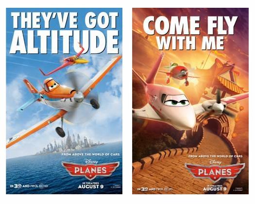 See the newest Disney Planes Posters! #DisneyPlanes #gottaseeit
