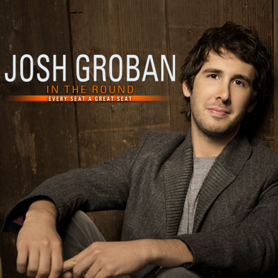 "Josh Groban ""In The Round"" Concert Tickets Giveaway"
