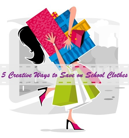 5 Creative Ways to Save on School Clothes