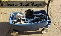 Halloween RePurpose: Step2 Treat Wagon