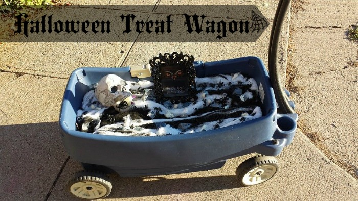 Halloween Treat Wagon