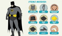 Superhero Costumes Infographic #DIY