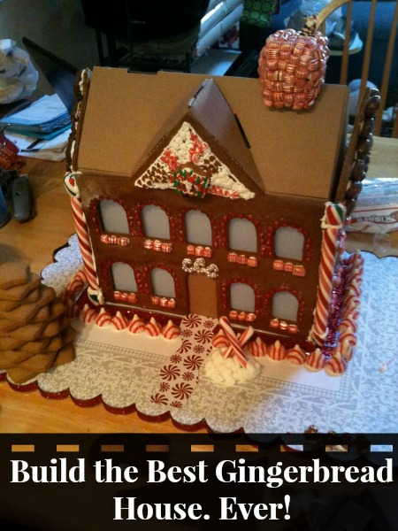 Build the best gingerbread house ever motherhood defined for How to make best gingerbread house