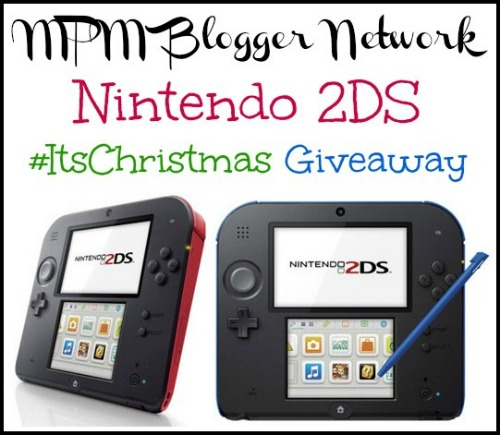 Nintendo 2DS Giveaway #ItsChristmas