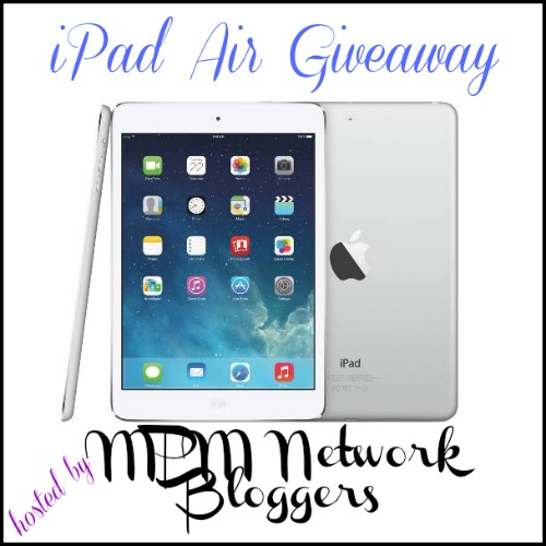 iPad Air Giveaway #ItsChristmas