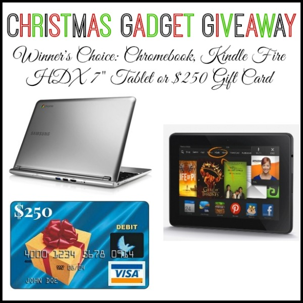 Christmas Gadget Giveaway