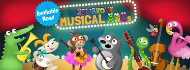 New App for Kids: Jamaroos Musical ABCs