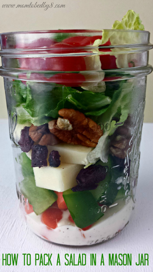 How to Salad Jar