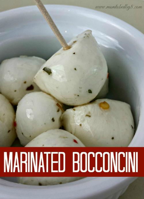 Marinated Bocconcini Recipe