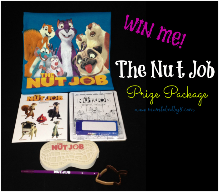 The Nut Job Prize Package
