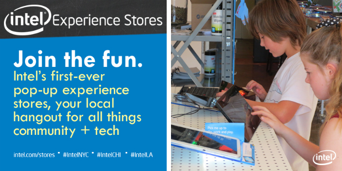 Upgrade your Inner Geek Goddess at an Intel Experience Store near you + Samsung Galaxy Tab 3 Giveaway