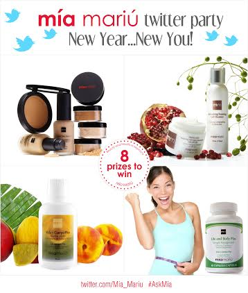Join Mia Mariu for a New Year, New You Twitter Party