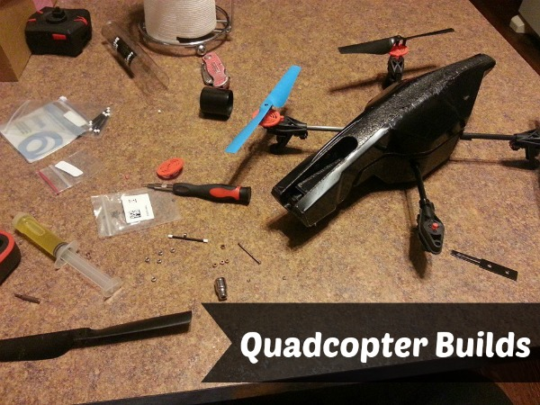 My husband's passion is quadcopters.