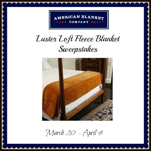 Luster Loft Fleece Blanket Sweepstakes